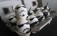 Storm trooper eggs?!?! NO WAY!!!!!