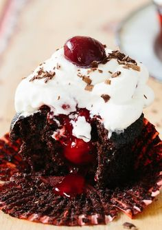 Recipe: Black Forest Cupcakes — Recipes from The Kitchn