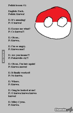 Learn polish in 10 seconds Stupid Funny Memes, Wtf Funny, Funny Posts, Hilarious, Satw Comic, Polish Memes, Polish Sayings, Learn Polish, Text Imagines