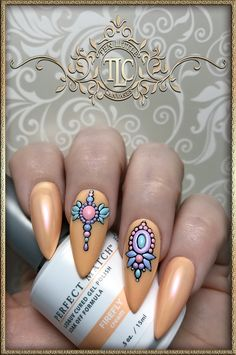 3D designs using Nailin decals.