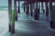 Kitty Hawk Pier — Outer Banks North Carolina, via Flickr.