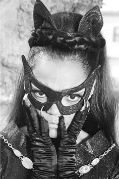 Image result for eartha kitt catwoman behind the scenes