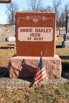 While traveling in Ohio recently I visited the Annie Oakley archive at the Garst Museum in Greenville.  Annie Oakley (Phoebe Anne Moses) was...