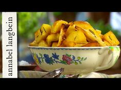 Roast Potatoes and Parsnips - Annabel Langbein – Recipes Cooking Roast Potatoes, New Recipes, Recipies, New Cookbooks, Vegetable Recipes, Vegan Vegetarian, Meal Ideas, Dinner Ideas, Side Dishes