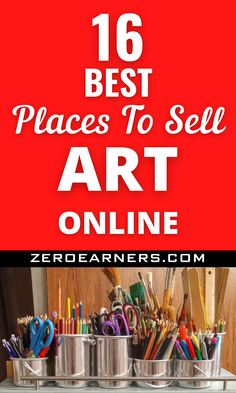 Want to sell art online? Yes? Here are some of the best places to sell art online. #sellartonline #sellart #art #makemoneyonline #makemoneyfromhome #parttimejobs #sidehustles #hobbiesthatmakemoney Hobbies That Make Money, Make Money From Home, Make Money Online, How To Make Money, Things To Sell, Selling Art Online, Online Art, Wholesale Products, Cool Websites