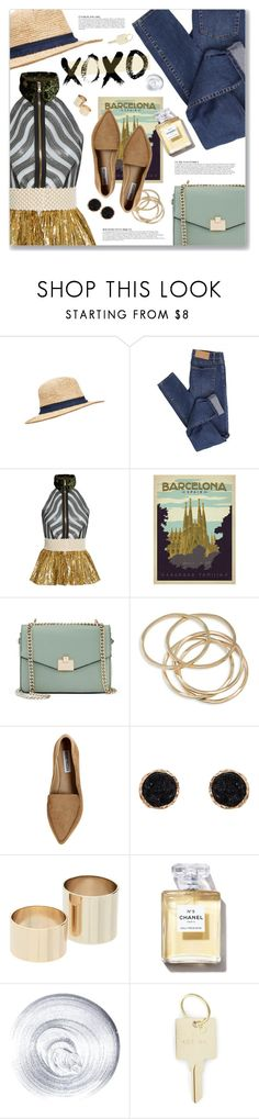 """XO, Beyoncé"" by blendasantos ❤ liked on Polyvore featuring Cheap Monday, Sophie Theallet, Jennifer Lopez, ABS by Allen Schwartz, Steve Madden, Anja, Humble Chic, Witchery, Guerlain and The Giving Keys"