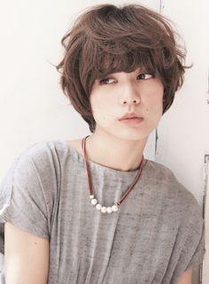 ナチュラル☆ウェーブ・ショートスタイル 【KaiR Aoyama】 http://beautynavi.woman.excite.co.jp/salon/27635?pint ≪ #shorthair #shortstyle #shorthairstyle #hairstyle・ショート・ヘアスタイル・髪形・髪型≫