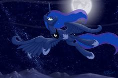 Bronycon Luna Print  by ~lunarapologist on deviantART