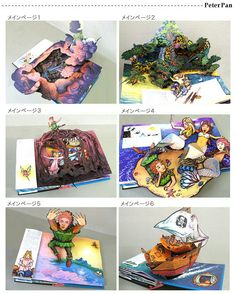 Robert Sabuda's Peter Pan pop up book