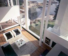 Richard #Meier - Smith House, inside; Darien, Connecticut, 1965-1967