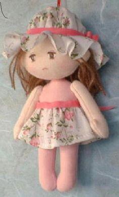 Como hacer una muñeca de trapo Aqui se muestran todos los pasos y materiales necesarios para hacer esta graciosa muñeca de tela o muñeca de trapo como la qu