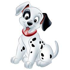 Dalmatian Dogs - Dog Cartoon Clip Art