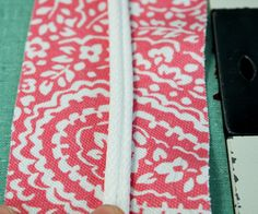 How to make double welt cord
