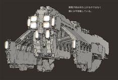 concept ships: Junji Okubo concept ships