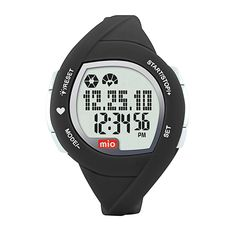 MIO M2W29P2C2L3 Active Strapless Heart Rate Watch. EKG accurate heart rate. Tracks total calories burned. Steps, speed and distance. All-in-one activity monitor with on-demand EKG accurate heart rate. Includes a Diet Diary which tracks and displays total calories consumed against calories burned. Measures and stores your 7-day metabolic expenditure which is a complete record of the calories you burn all day, not just during exercise. Multi-function activity monitor uses advanced...