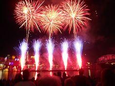 Labor Day in Cincinnati. WEBN Fireworks