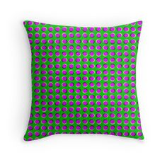 """TWIST Two"" Throw Pillows by optillusionist 