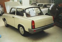 OG   Trabant 601 - Restyling project   Prototype from 1988