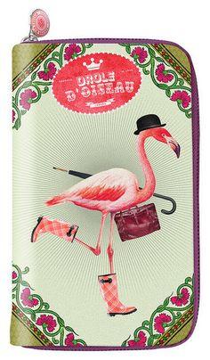 reciclandoenelatico.com Flamingo Wallet - 29€