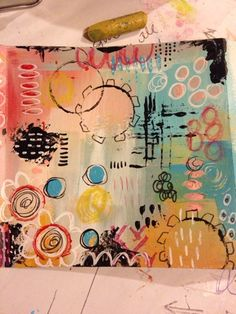 More painting fun...