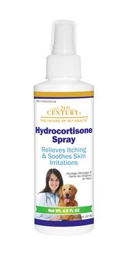 Hydrocortisone Spray for Dogs- 21st Century Pet Health $9.99 http://www.21stcenturypet.com/product-dog.asp?i=1031=10