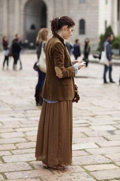On the Street….Charming, Milan « The Sartorialist