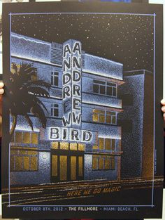Andrew Bird with  Here We Go Magic, at The Fillmore, Miami Beach by   Nate Azark