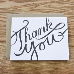 12 Best Thank You Card Design Images On Pinterest Business Ideas