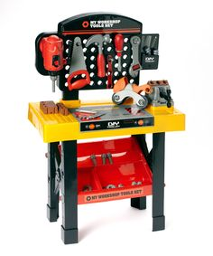 Look what I found on #zulily! My Workshop Tool Table Set by OKK Trading Inc. #zulilyfinds