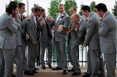 Creative photo for wedding album