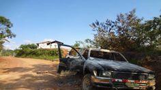 Comuneros del Vraem quemaron camioneta de la Policía Nacional