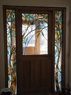 Fabulous Tree Door Panels by my friend Cathi from Shedglas Design