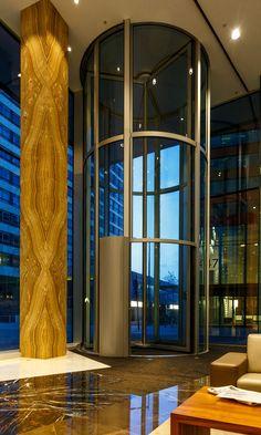 Bauporte design entrances bv project tallest full - Boon edam porte tambour ...