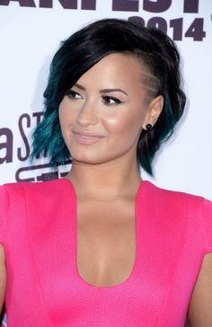 Demi lovato's short hair is on my to do list.