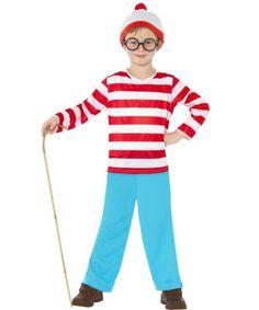 Book week ideas: Wheres Wally Boys Costume | BOYS