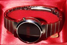 Vintage Silvertone LED Watch, Circa 1970s