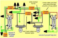 3 way switch diagrams 3 way switch wiring, Light switch