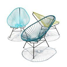 krzesła żyłkowe, kojarzą mi się bardzo polsko, w berlinie też były
