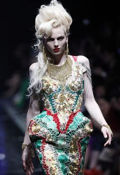 Jean Paul Gaultier Couture SS 2012