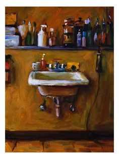 The Barber's Sink Giclee Print by Pam Ingalls at AllPosters.com