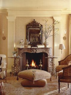 I admire timeless elegance and modern luxury of Suzanne Tucker design