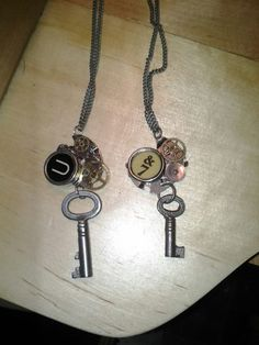 The newest necklaces. All real antique pieces.