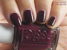 grafika nail polish, nails, and plum