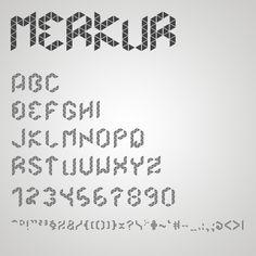 Font tangram
