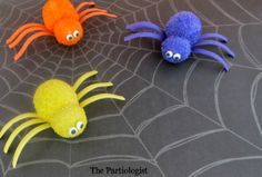 The Partiologist: Itsy Bitsy Spiders!