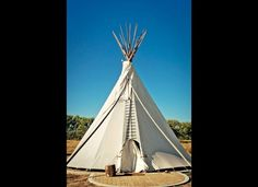 Guests can opt for tepees, trailers, or yurts at El Cosmico in Marfa, Texas.
