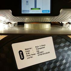 #myfirst #3dprint #with #blackpla1.75 #mycube3 #cubify #3dprinting #techjunkee