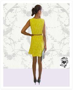 Olha que Vestido Mais Lindo, mais Cheio de Graça. No Mania de Sophia: www.maniadesophia.com.br.
