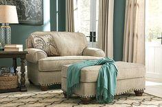 Cindy Crawford Calista Microfiber Chair And A Half