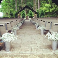 Are you in love with barn wedding? If you're looking for several barn wedding decor ideas? Rustic Folk Weddings has got the perfect list for you. Barn Wedding Venue, Wedding Ceremony Decorations, Rustic Wedding, Wedding Ideas, Wedding Church, Do It Yourself Wedding, Wedding Flowers, Aisle Flowers, Just In Case